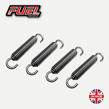 4no. Silencer Exhaust Springs 66mm Universal Stainless Road Motorbike Race Can