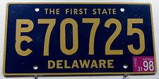 "USA Nummernschild Delaware ""THE FIRST STATE"". 12238.."