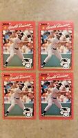 1990 Donruss Harold Baines #660 - 3 Different Error Cards and the Corrected Card