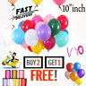 "20 X Latex 10"" inch PLAIN BALOON BALLONS helium BALLOONS Party Birthday Wedding"