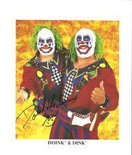 m474 Doink ( Ra) signed wrestling 8x10 w/Coa History
