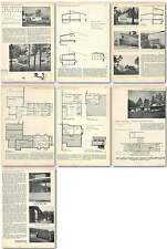 1953 Two Houses North Of Copenhagen Arne Jacobsen