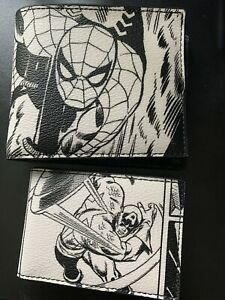 Coach X Marvel Limited Comics Book Print Spider Men 3 in 1 Leather Wallet 1837