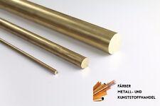 Messing  Rundmaterial Rundstange  D. 12 mm /500mm Lang