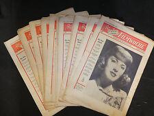 Die neue Filmwoche, 4. Jahrgang/1949, Ausgaben: 3 - 6, 8,10 - 14,16 - 20