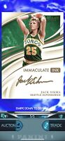 2019 Panini Immaculate Basketball Jack Sikma Auto /5 Nba Dunk *DIGITAL CARD*