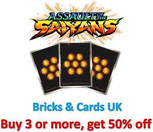 Dragon Ball Super Card Game Assault of the Saiyans - Foil UC / C Cards