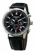 Jorg Gray JG6500 Series Chronograph Leather Watch - As Worn By President Obama