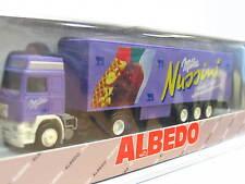 Albedo 300137 Volvo Kofferhängerzug Milka Nussini OVP (N1269)