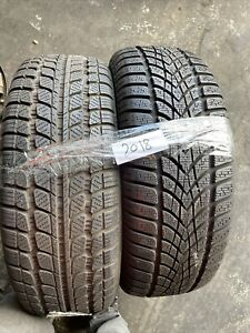 2X 215 60 R16 86H M+S Used  Dunlop +SUNY 7/6.5mm (2018 ) Free Fitting Available