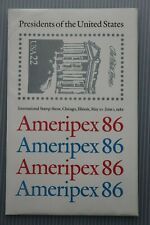 US Postage stamp sheets US Presidents 36 twenty two cent stamps.