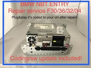 BMW F30 NBT Entry Head Unit Repair Service 9290998, 9299097, 9341083 OEM