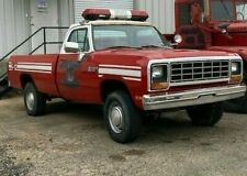 Dodge W350,M880 1985 Military 43,000 miles Unbelievable Condition 4x4 Fire Truck