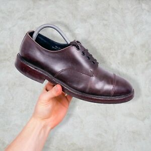 Vintage Tim Little Leather Shoes Brown Brogues Sweet n Sour Made in England UK 8