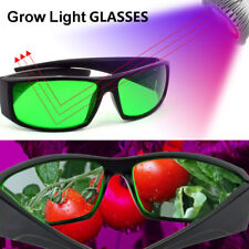 UV400 LED Grow Light Room Glasses Ultra Violet Eliminators Indoor Hydroponics