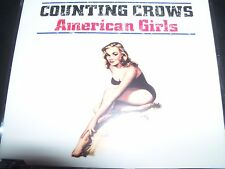 Counting Crows American Girls Rare Australian Promo CD Single - New