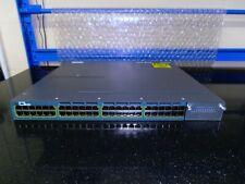 Cisco Catalyst WS-C3560X-48P-S 48 Port PoE Gig Switch  2 X 715W PSUs