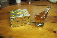 Vintage Avon Decanter Bottle with original Box – 1971 – Song Bird