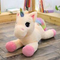 Soft Giant Plush Jumbo Unicorn Toys Stuffed Animal Doll Huge Size Simple Hottest