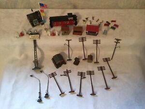 1960s AURORA Model Motoring HO SLOT CAR Track ACCESSORIES  Used