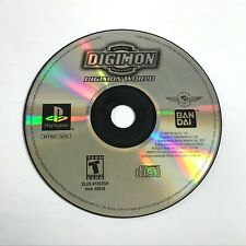 Digimon World - PS1 Game / PlayStation 1 Game [DISC ONLY]