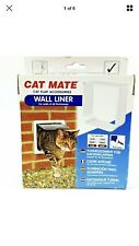 Cat Mate Door Liner White New In Box Model 303w