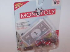 WHITE LIGHTNING 1969 CHEVY CAMARO MONOPOLY JOHNNY LIGHTNING NEW IN PACKAGE