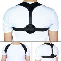 Upper Back Posture Corrector Clavicle Support Belt Back Slouching Corrective--