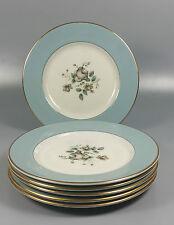 Royal Doulton Rose Elegans Tc1010 Set De 6 X Té / placas laterales 16,5 cm (Perfecto)