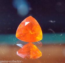 * rare lizardite orange (serpentine gemme) 0.21 ct troidia afrique du sud !  *