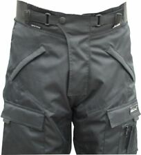 BLACK ASH MENS MOTORCYCLE PANTS TEXTILE CORDURA ARMORED SIZE 32 WAIST