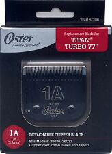 Genuine OSTER Diamox Blade Size 1A For 76 Turbo 77 Titan 76918-706 ANTIMICROBIAL