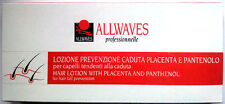 ALLWAVES hair lotion with PLACENTA PANTHENOL for preventing hair fall 12 VIALS