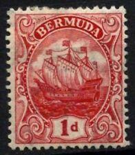 Bermuda 1910-25 SG#46, 1d Red MH #D56671
