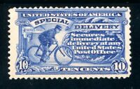 USAstamps Unused FVF US 1902 Special Delivery Scott E6 OG MHR