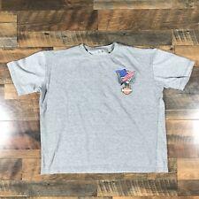 Harley Davidson Kabul Afghanistan Grey T-shirt Large American Flag Bald Eagle