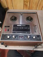 Teac A-2080 Recording Reel To Reel player powers up estate find