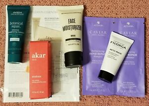 Beauty lot: 6 Allure beauty  box,  etc. Mixed skin care/  hair care