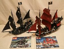 Lego Pirates of the Carribean 4184 Black Pearl and 4195 Queen Anne