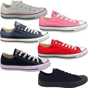 Converse Chuck Taylor Unisex Adult All Star Low Top Canvas Shoes Sneakers