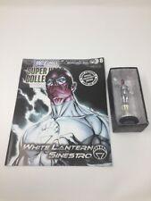 DC Blackest Night Figurine Collectible Magazine #8 White Lantern Sinestro