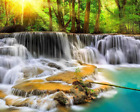 Mystical Waters Waterfall Wall Mural Paste the Wall Wallpaper WALS0054