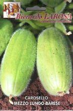 carosello mezzo lungo  barese  semi/seeds