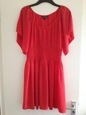 Lovely Ladies Warehouse Red Kimono Sleeve ElasticWaist Short Summer Dress-Size M