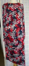 Lovely Size 18 Lined Abstract Floral PER UNA Dress Size UK:16 in VGC