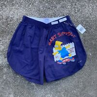 Vintage 1992 NWT RARE The Simpsons Bart Simpson SAMPLE Shorts Size Medium