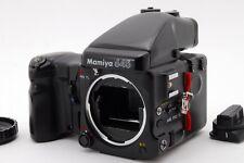 【AB- Exc】Mamiya 645 PRO TL Medium Format SLR Film Camera w/Grip From JAPAN #2978