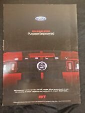 """2014 Shelby GT500 Mustang Brochure Poster Spec Sheet Awesome 36"""" Centerfold"""