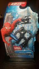 Spiderman 3 Movie Figure VENOM Symbiote Spinning Attack BLACK VARIANT 5 inch New