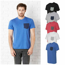 Cotton Blend Basic Fitted Big & Tall T-Shirts for Men